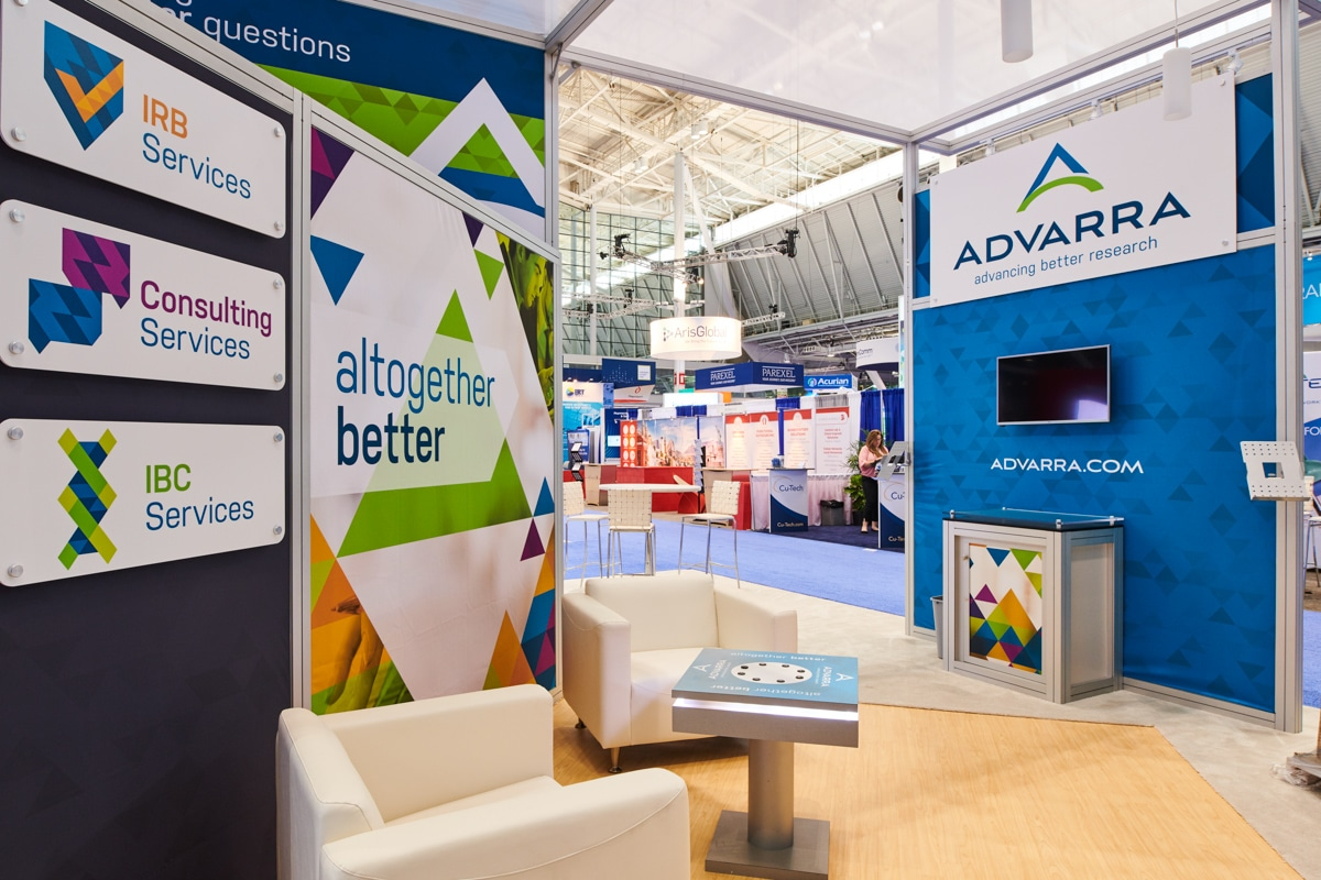 Advarra DIA 2018 Trade Show Booth