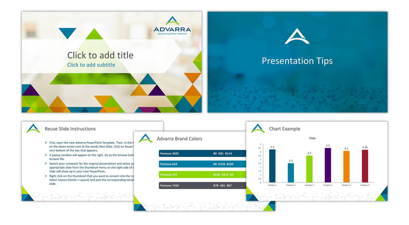 Advarra PowerPoint Template