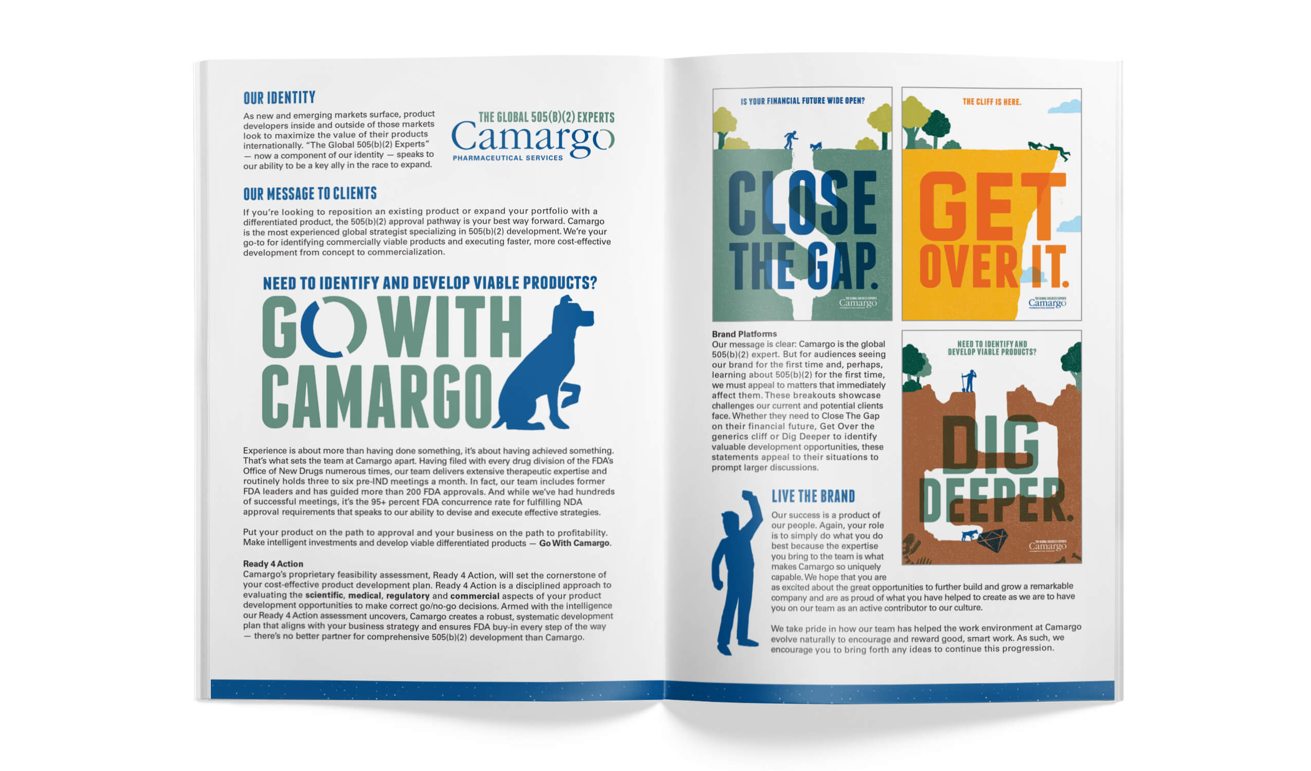 camargo internal brand book