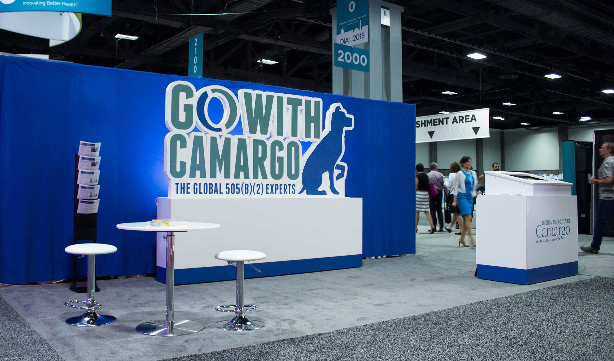 Camargo trade show booth