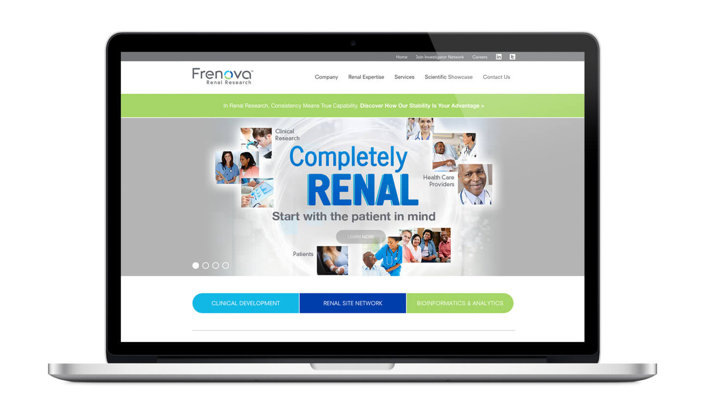 Frenova website
