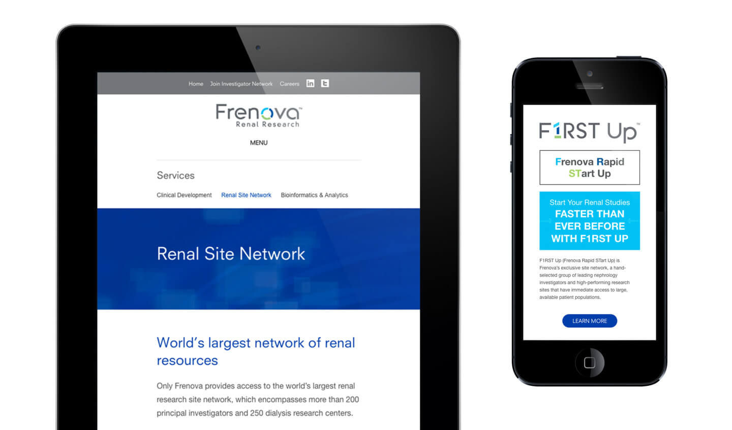 Frenvoa website