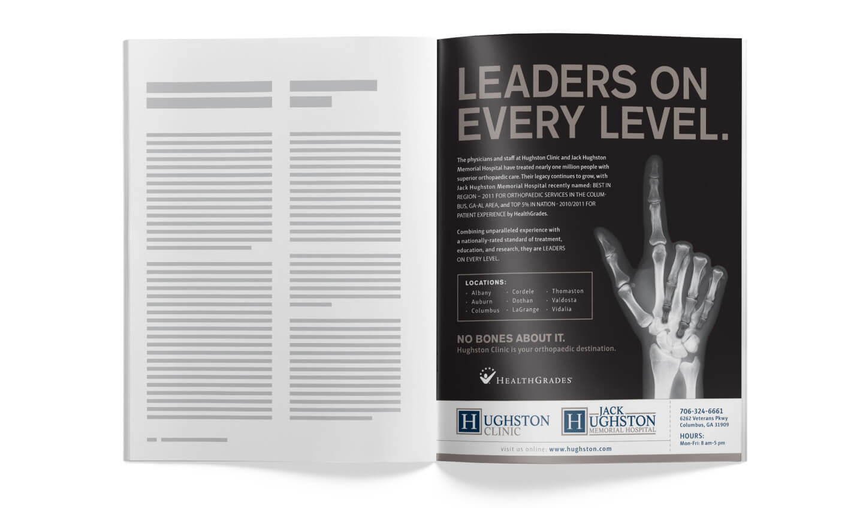 Hughston Clinic Print Ad