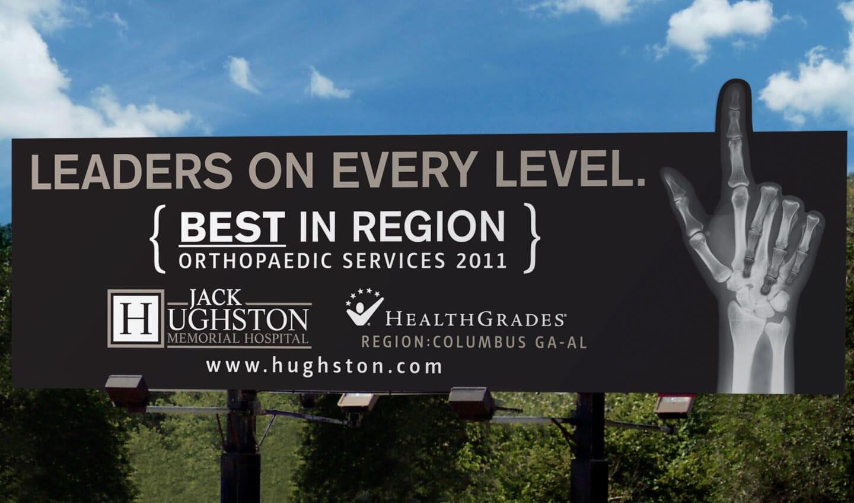 Hughston Clinic Billboard