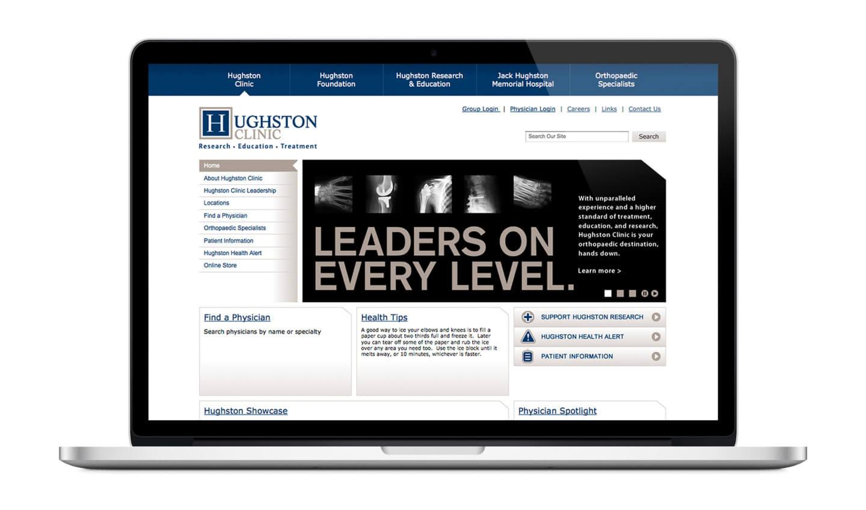 Hughston Clinic Website