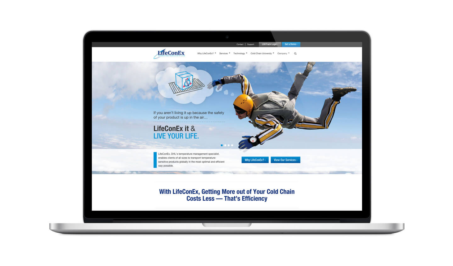 LifeConEx Website
