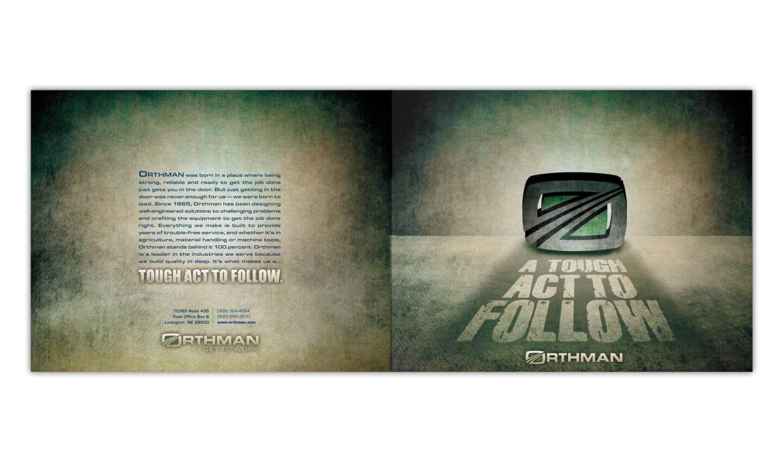 Orthman sales folder