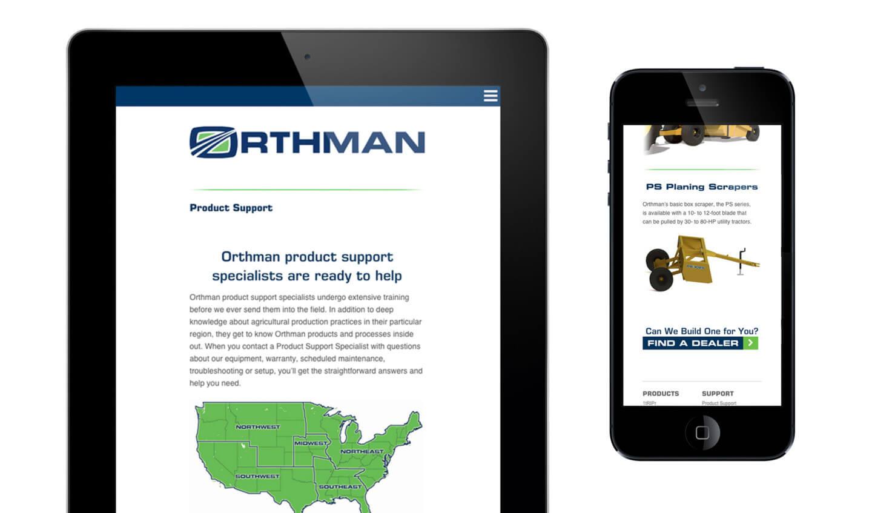 Orthman Web