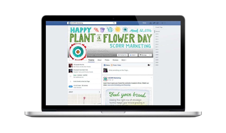 Plant a Flower Day social media