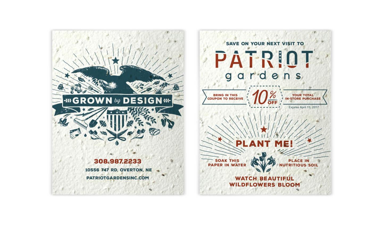 Patriot Gardens coupon