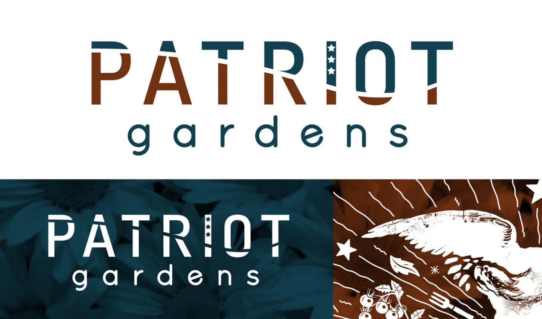 Patriot Gardens logo