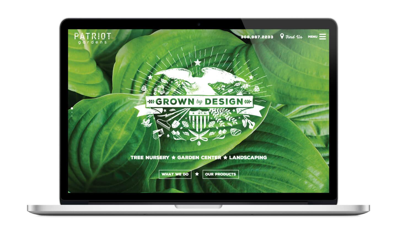 Patriot Gardens Web