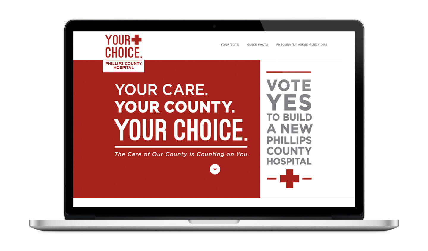 Phillips County Health Systems microsite