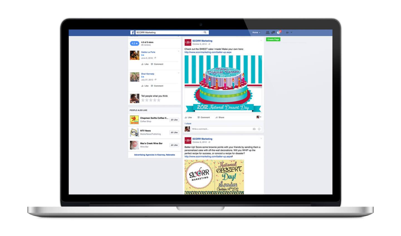 Dessert Day Social Media