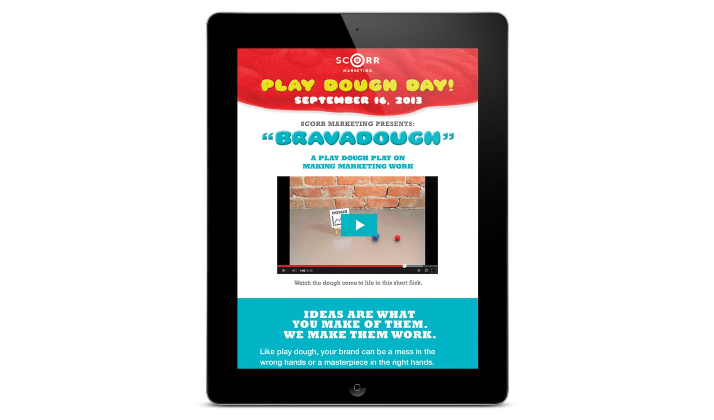 Play Dough Day Email