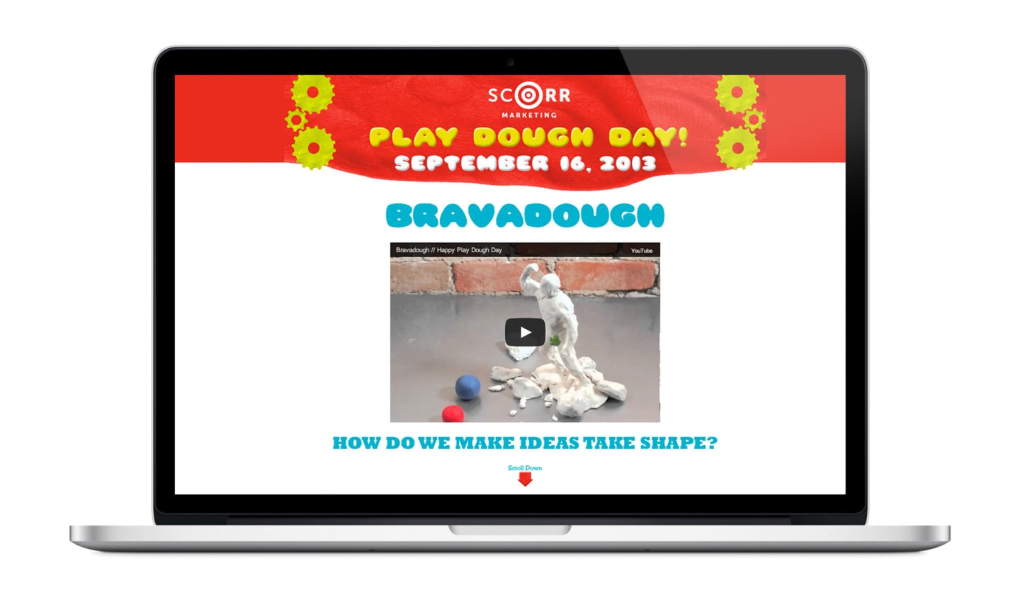 Play Dough Day website