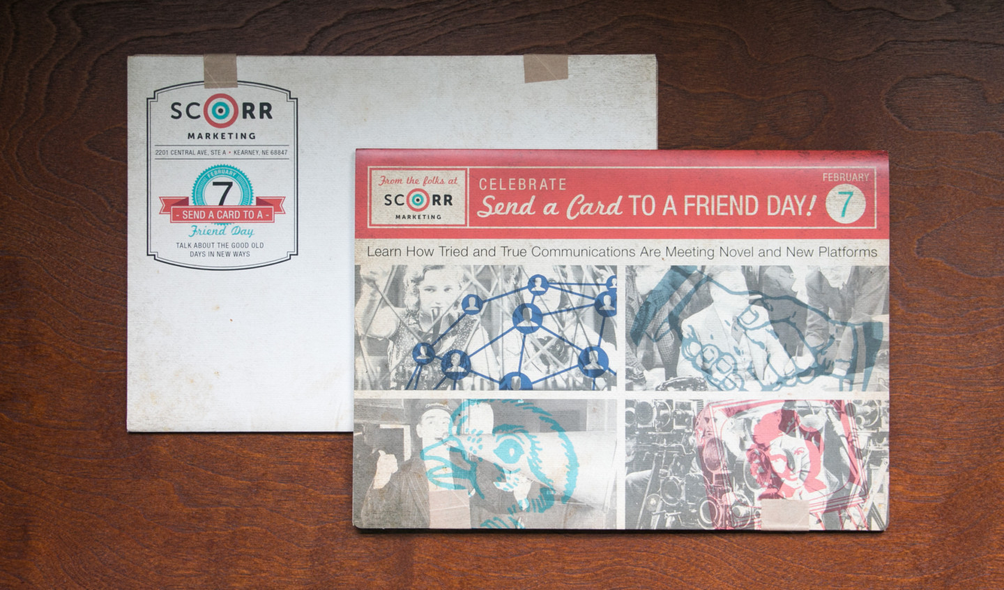 Send a Card to a Friend Day mailer