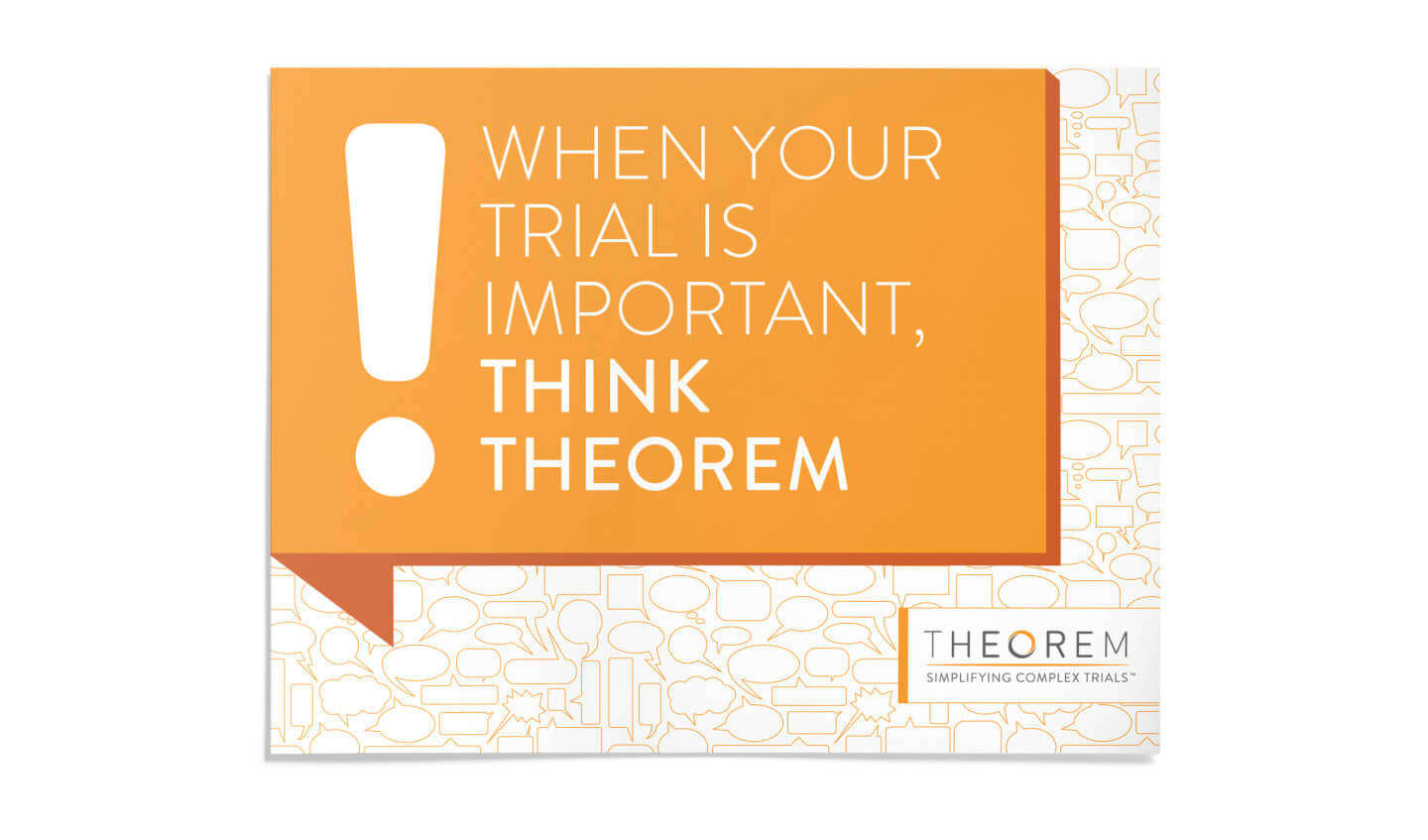 Theorem Big idea