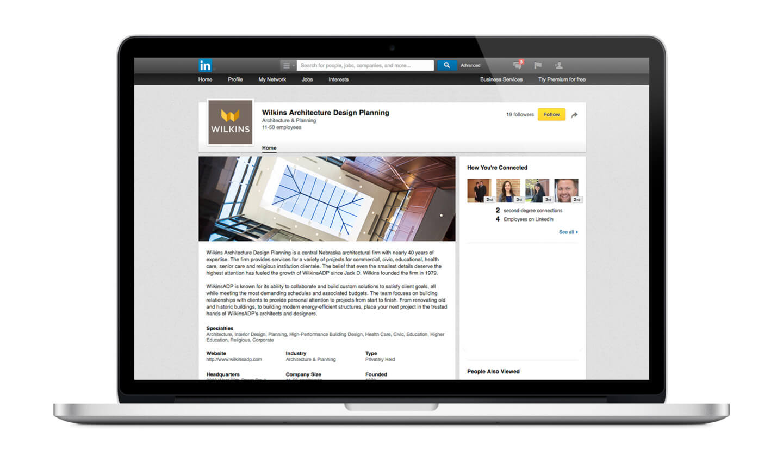 Wilkins LinkedIn Page