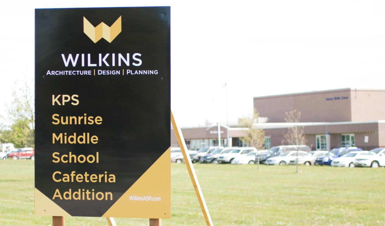wilkins building sign