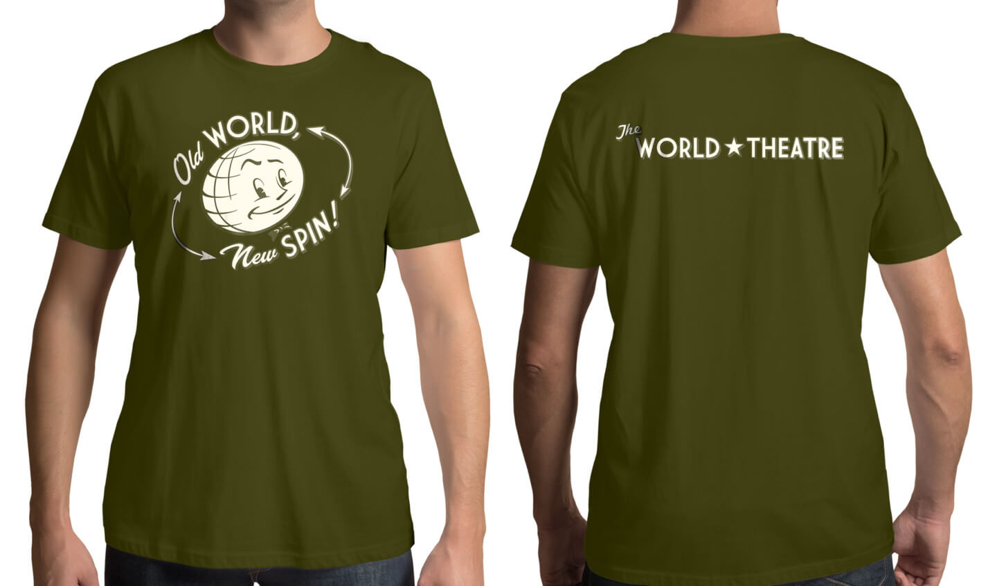The World Theater shirt