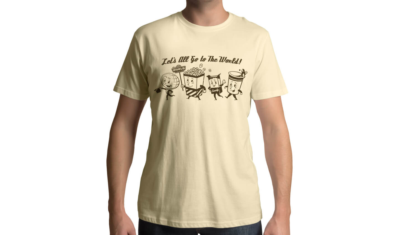 The World Theater shirt