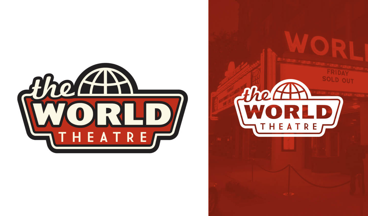 The World Theater logo