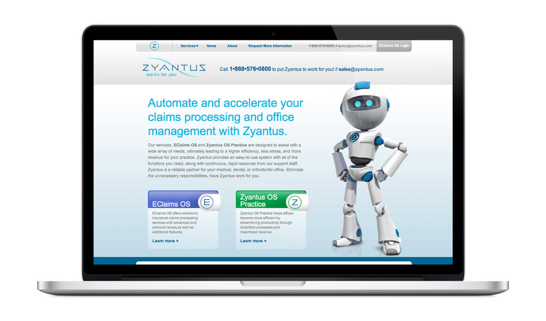 Zyantus website